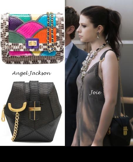 georgina-sparks-gossip girl wears_angel jackson-gossip girl _atomic handbag-bag
