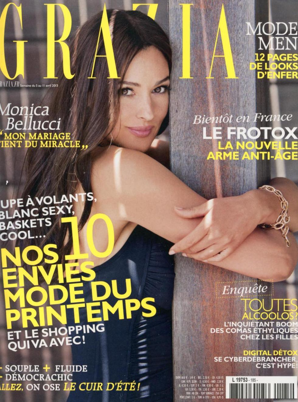 Grazia FRA 2013-4-5 Cover