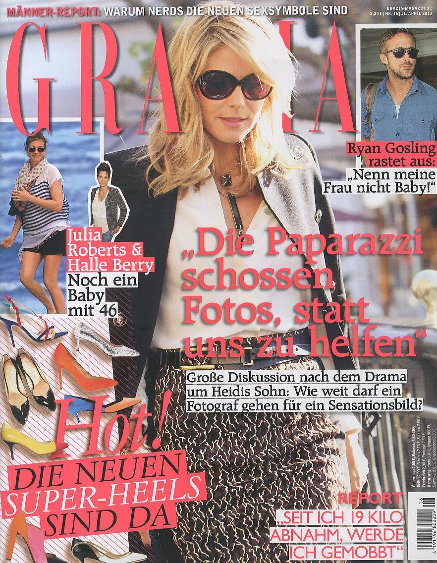 Grazia GER 2013-4-11 Cover