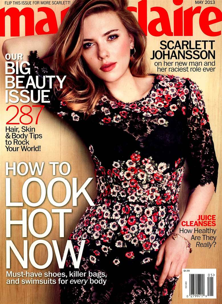 Marie Claire USA 2013-5-1 Cover