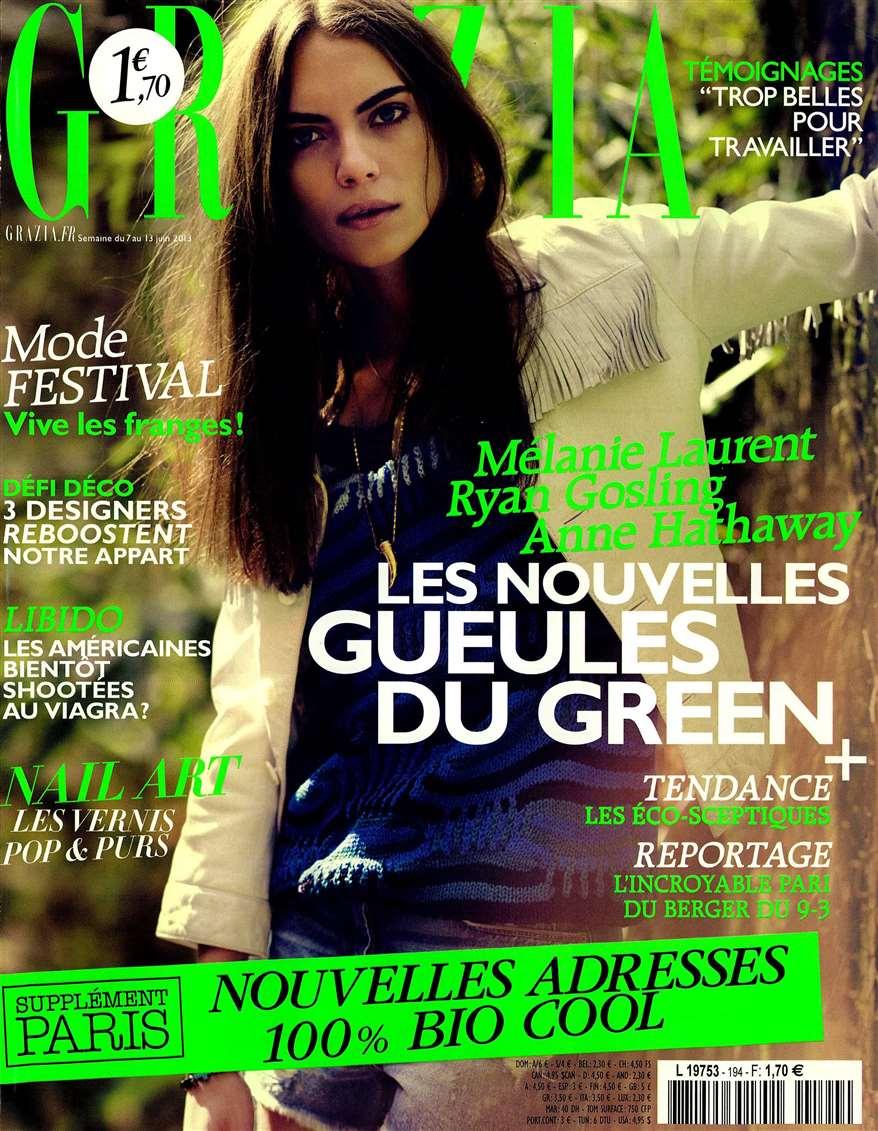 Grazia FRA 2013-6-7 Cover