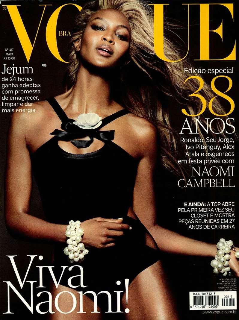Vogue BRA 2013-5-1 Cover