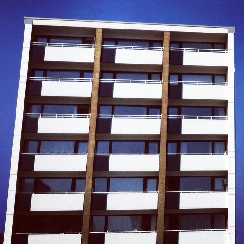 #blue #architecture #1960s
