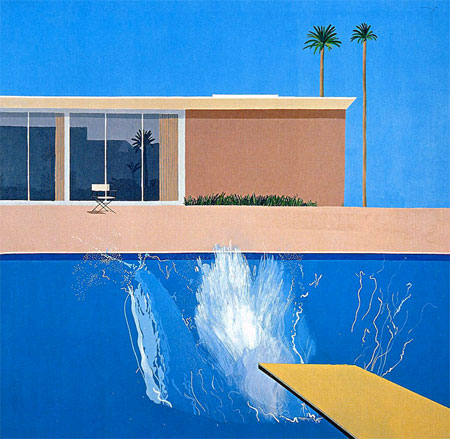 #blue #DavidHockney #art