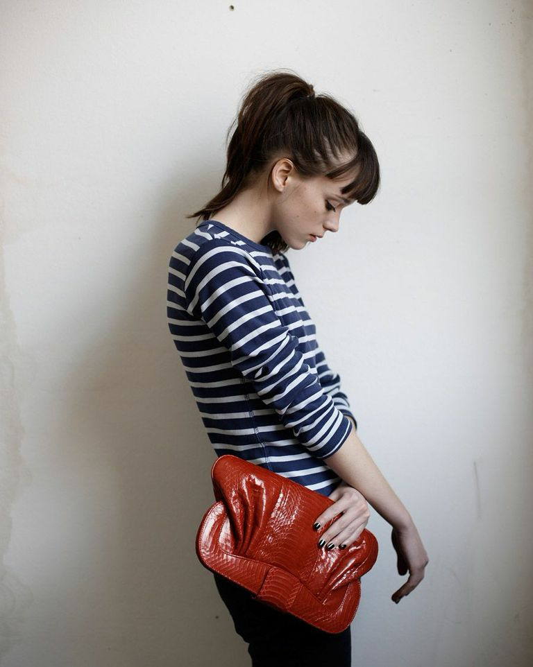 MINIMAL RED CLUTCH-MODERN-ELEGANT-STYLE-ANGEL JACKSON BRITISH HANDBAG BRAND