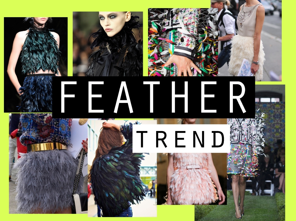 feathers hand bag moodboard angel jackson fashion week inspiration street style erdem alexander mcqueen chanel fend thom browne isabel marant