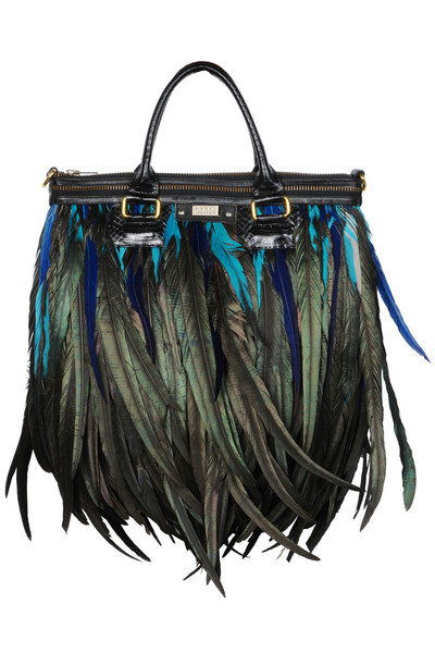 Lianto Feather Jade tote luxe