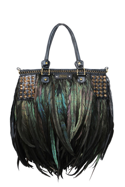 Stud chain Lianto Feather Attache Black grande