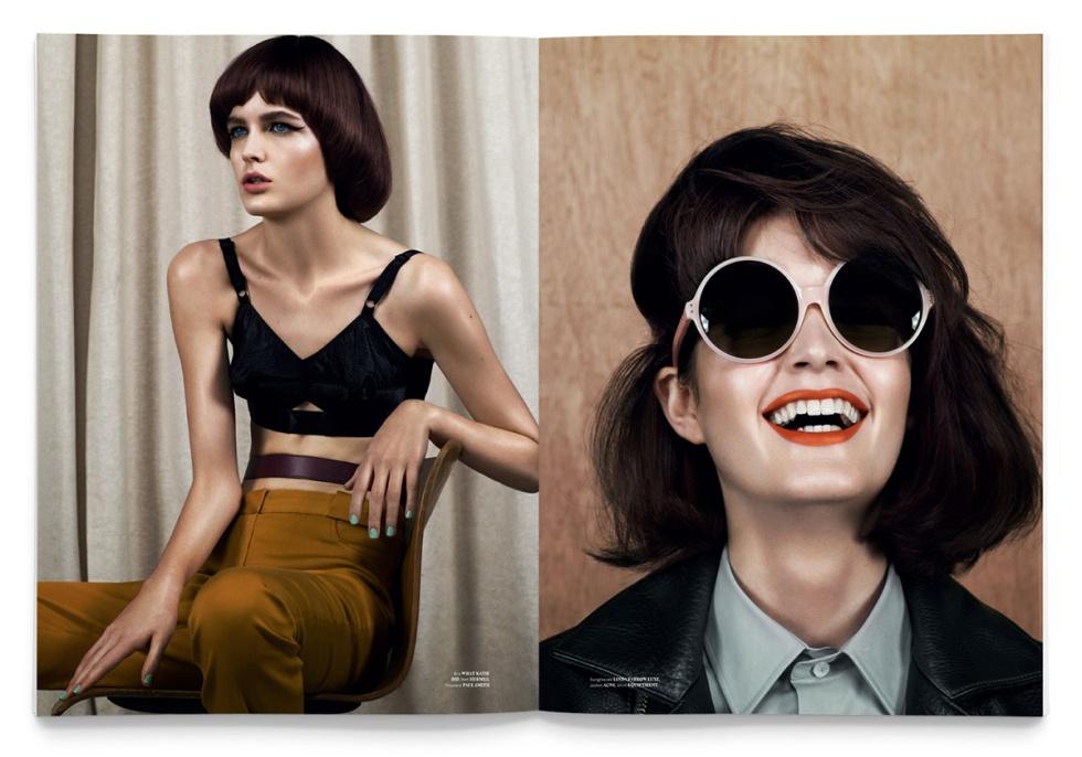 used magazine issue 5 fashion inspiration graphic design print publication inspiration angel jackson handbag accessories british